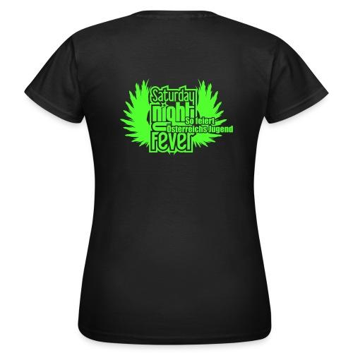 25cm breite snf logo - Frauen T-Shirt