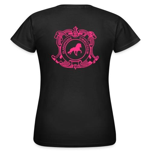 islandpferdereistchule pfad ohneweb - Frauen T-Shirt