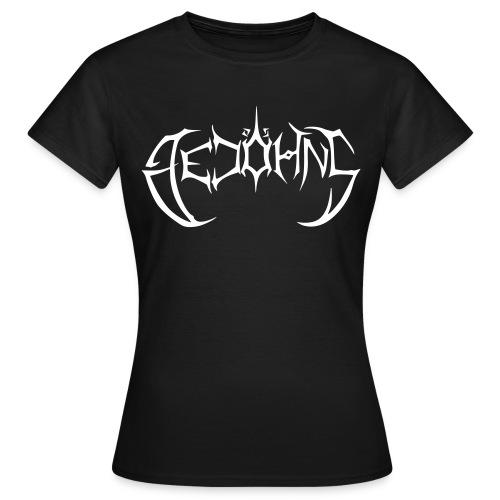 Gedöhns Schriftzug - Frauen T-Shirt