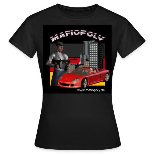 Shirt-Mafiopoly_black1 - Frauen T-Shirt