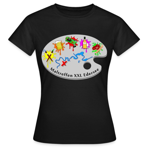 Maltreffen XXL Edersee - Frauen T-Shirt