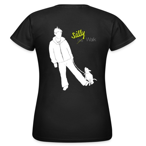 Silly Walk png - Frauen T-Shirt