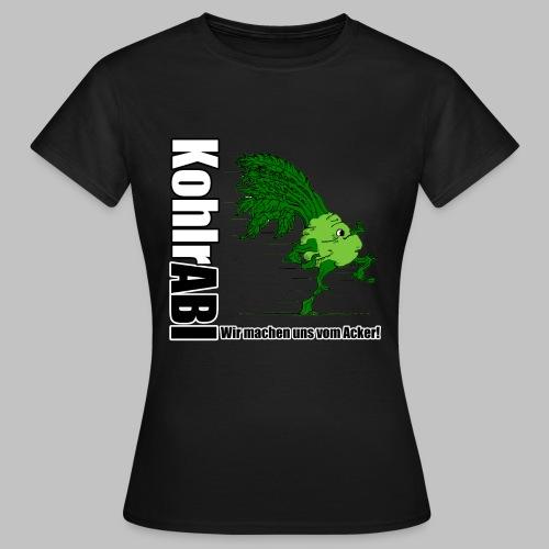 ABI-TSHIRT Kohlrabi - Frauen T-Shirt