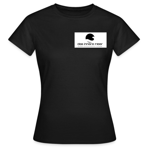 Logo innere meer schwarz psd jpg - Frauen T-Shirt