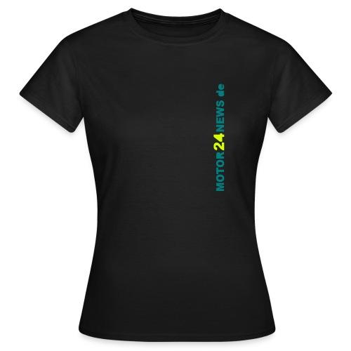 Motor24news-schrift - Frauen T-Shirt