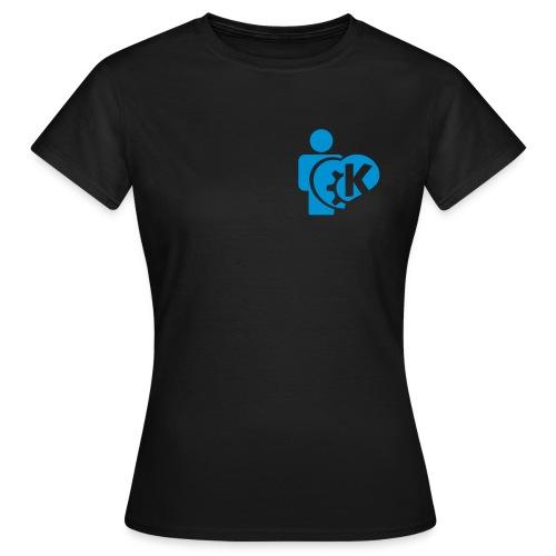 I love KDE - Women's T-Shirt