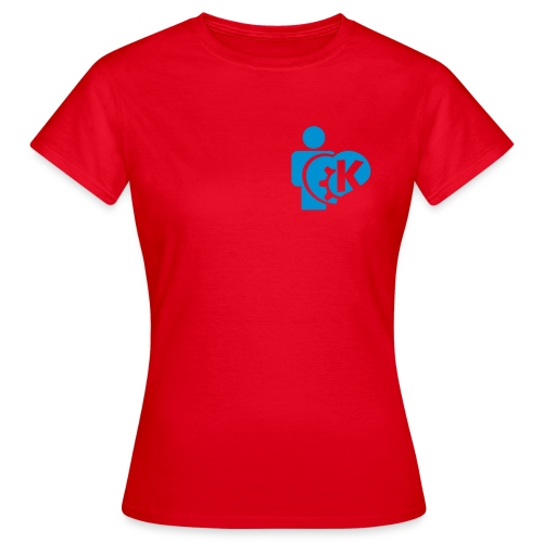I love KDE - Women's T-Shirt