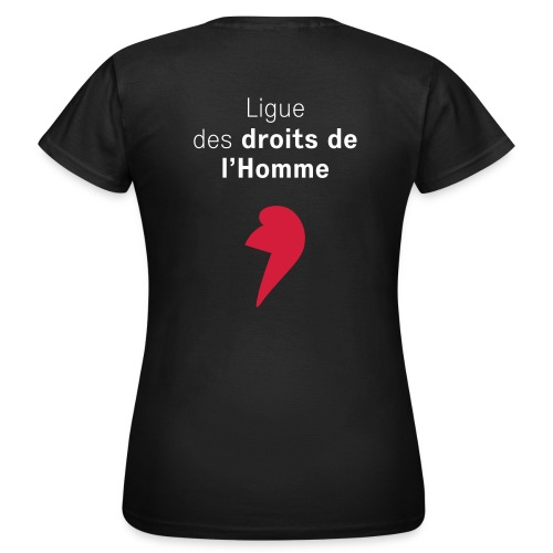 LDH 2 couleurs AI - T-shirt Femme