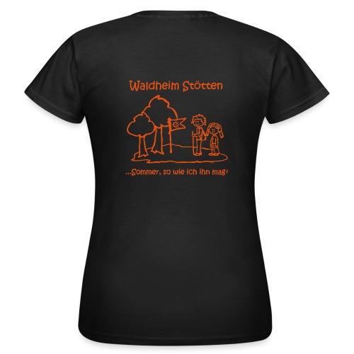 Waldheim Stötten Sommer so wie ich ihn mag - Frauen T-Shirt