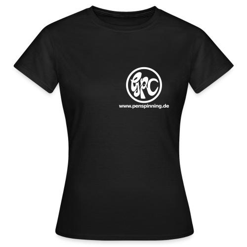 GPCLogo_domain_white - Frauen T-Shirt