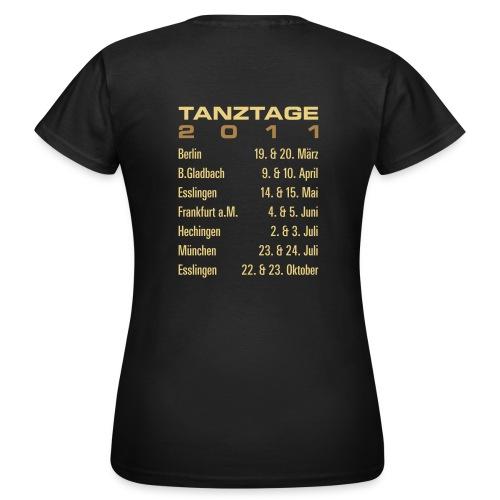 tanztage2011 - Frauen T-Shirt