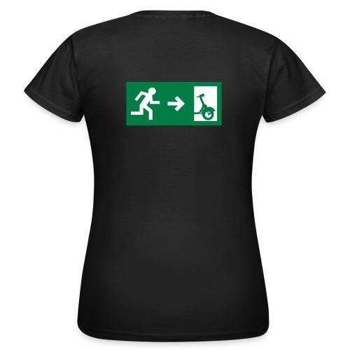 notaufgang - Frauen T-Shirt
