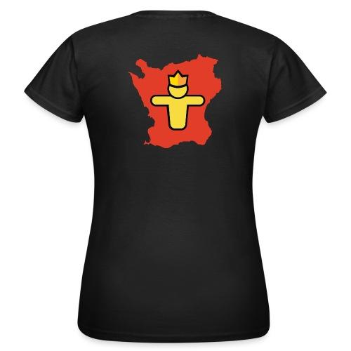 Turf Skåne symbol - T-shirt dam
