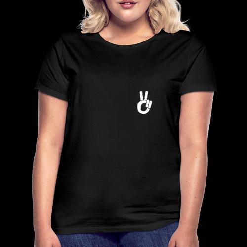 Motardie V blanc - T-shirt Femme
