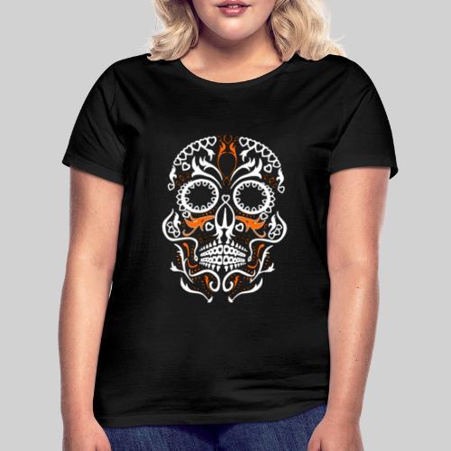 skull fon png - T-shirt Femme