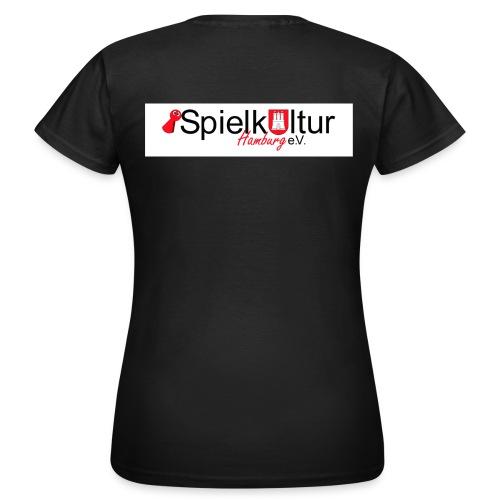 Logo eV2 Druck jpg - Frauen T-Shirt