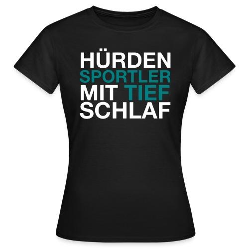 Hürdensportler - Frauen T-Shirt
