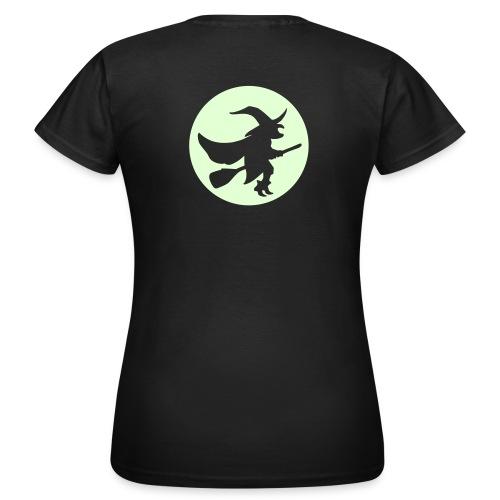hexe_1farbig - Frauen T-Shirt