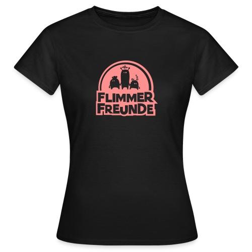 motiv 7 flimmerfreunde - Frauen T-Shirt