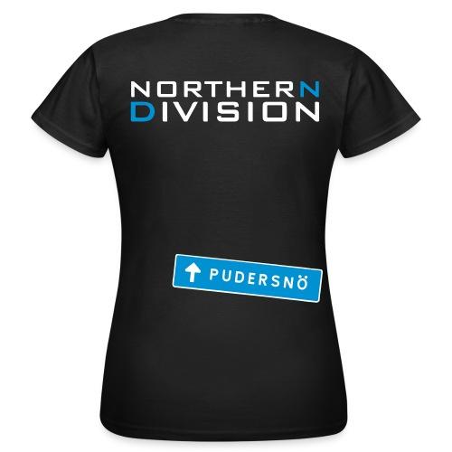 pudersn_2vari - Naisten t-paita