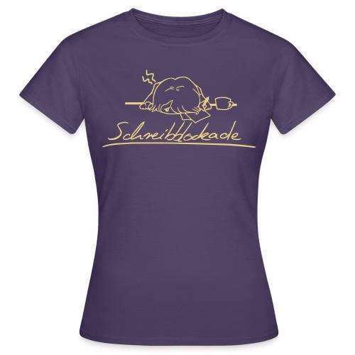 Schreibblockade - Frauen T-Shirt