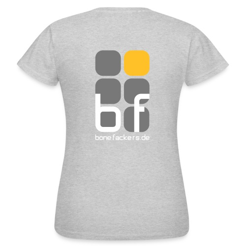emblem farbig text schwarz - Frauen T-Shirt
