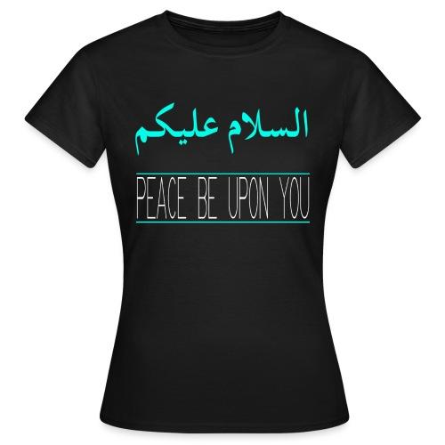 salaamarabic png - Women's T-Shirt