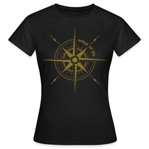 Ways of live Windrose - Frauen T-Shirt