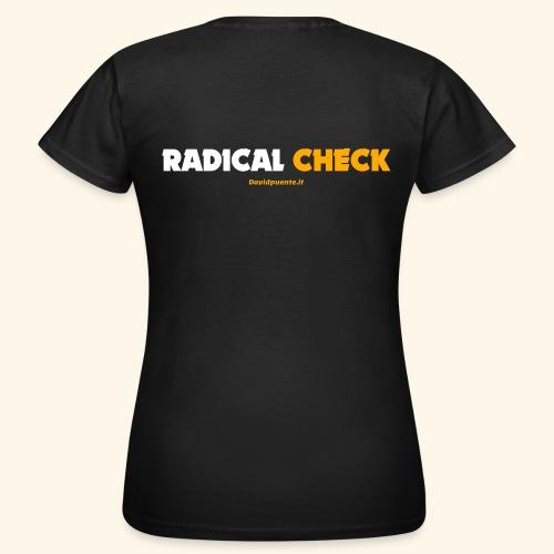 Radical Check - Maglietta da donna