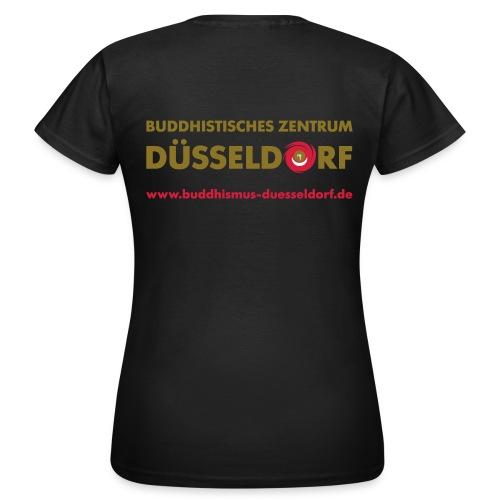 kagyutee 02 back kopie - Frauen T-Shirt
