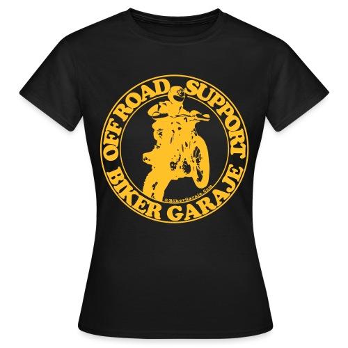 Off Road amarillo def 3 - Camiseta mujer