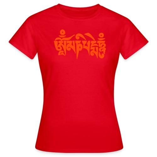 om mani padme hum - Frauen T-Shirt