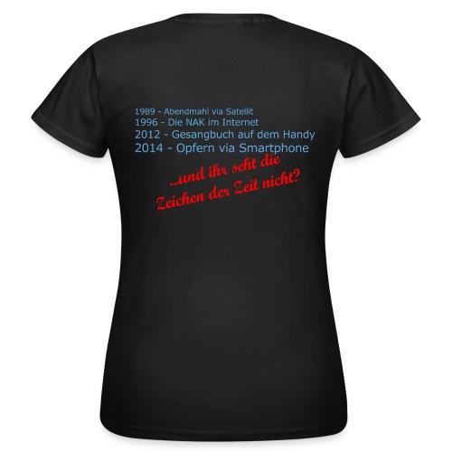 Zeichen der Zeit png - Frauen T-Shirt