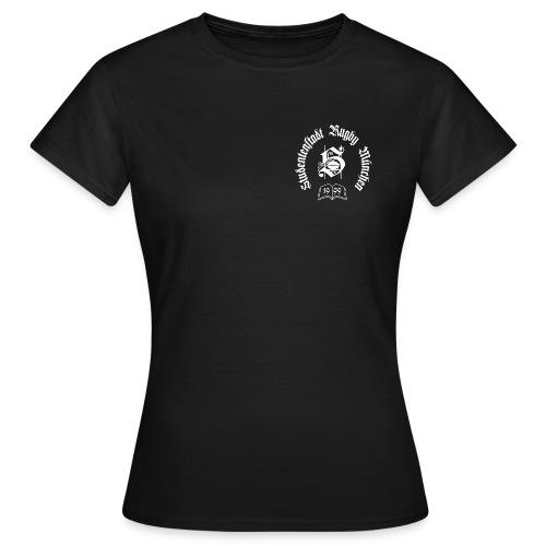 stustarugbylogo weiss - Frauen T-Shirt