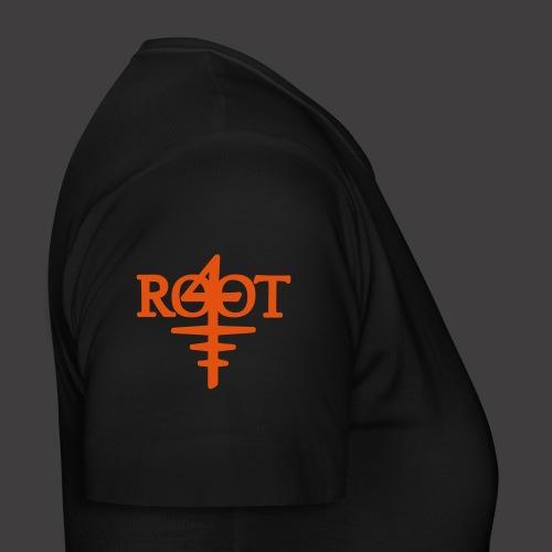 root4 logo weiss - Frauen T-Shirt