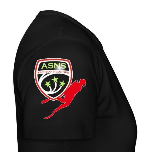 Logo-ASNS-Section-Plongee - T-shirt Femme