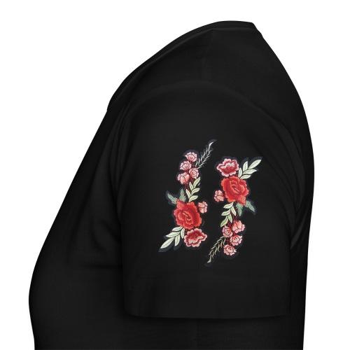 Rosa rossa - Maglietta da donna