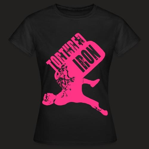 woman tyre vec - Women's T-Shirt