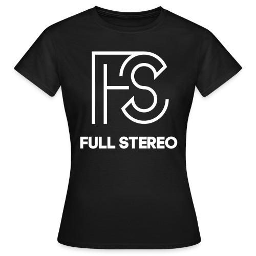 logo schwarz gif - Frauen T-Shirt