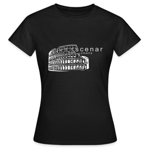 scenaromanatshirt - Maglietta da donna