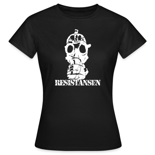 Resistansen logo 2 - T-skjorte for kvinner