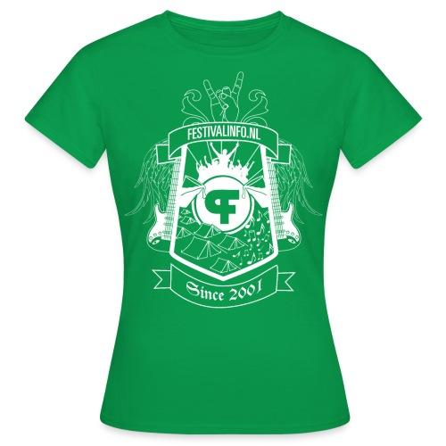 tshirt schild wit def2 - Vrouwen T-shirt