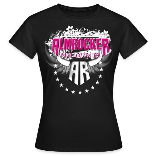 AlmRocker Logo Schriftzzug - Frauen T-Shirt