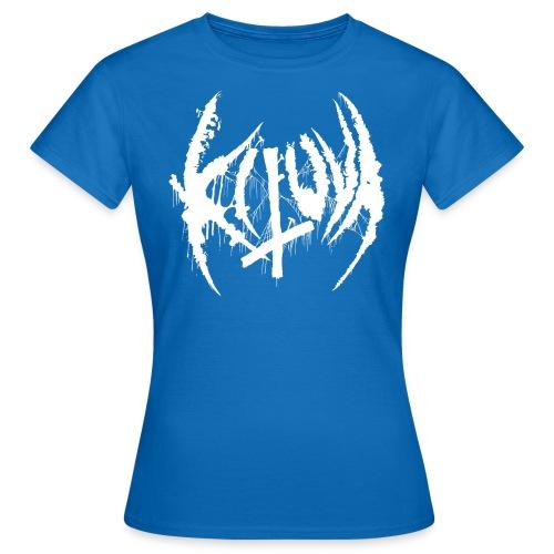 Kituva white logo - Naisten t-paita