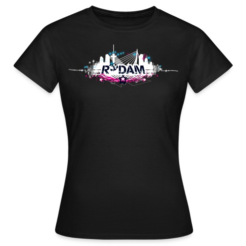 rdam logo nightskyline 2009 shirtdesign - Vrouwen T-shirt