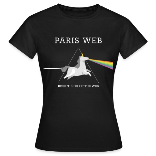 Bright side of the web - T-shirt Femme