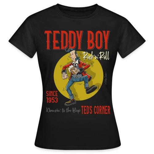 Teddy Boy Dancin 'to the Bop - Camiseta mujer
