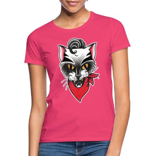 Rockabillycat - Maglietta da donna