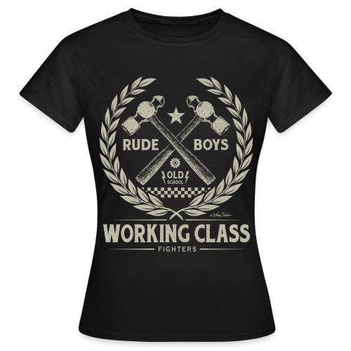 clase obrera - Camiseta mujer
