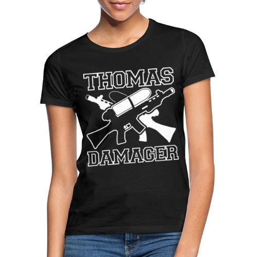 Thomas Damager Logo - Frauen T-Shirt